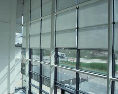 Large Office, Manchester - System 3/300 electric blinds