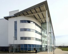 College, Lanarkshire - College blinds throughout