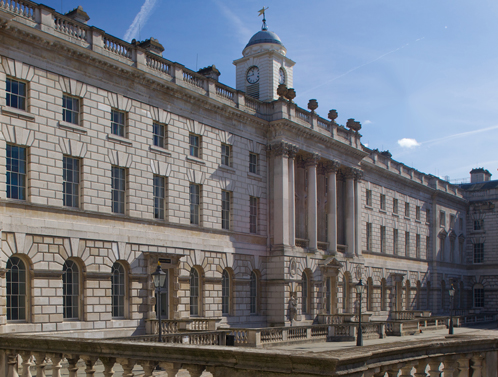 'Floating' Blinds at King's College, London, Somerset House East Wing