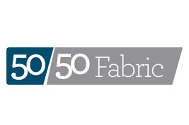 50-50 Fabric Logo