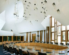 Scottish Parliament, Edinburgh - System 3 and System 8 Blinds