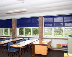 Secondary School, Cumbria - College blinds