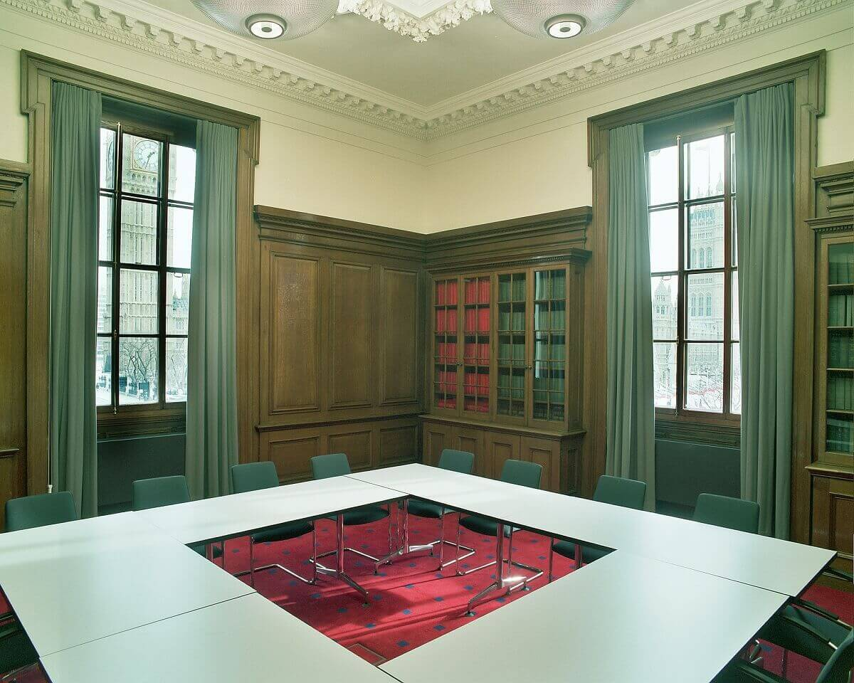 HM Treasury, London - Bespoke Curtains